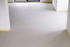 Anhydritová podlaha – Rodinný dům Polička