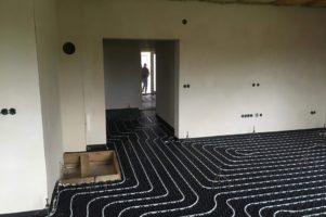 Anhydritová podlaha – Věchnov