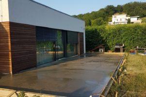 Metličkový beton (kartáč) 75 m2