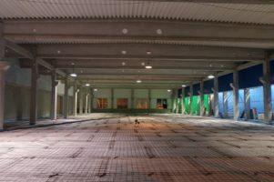 Drátkobetonové podlahy se vsypem 1800 m2 – Čáslav