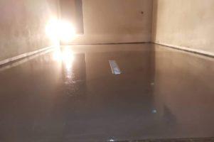 Drátkobetonová podlaha – Újezd u Brna