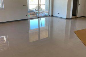 Anhydritová podlaha – Bystřice nad Pernštejnem