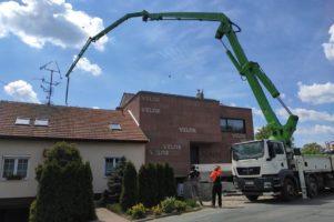 Hlazený beton – Mikulov