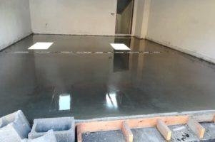 Drátkobetonová podlaha – Oslavany