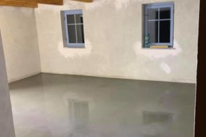Drátkobetonová podlaha – Ždírec